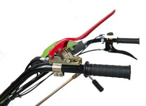 Motocultor DKD HS1100D motor 7CP, grup profy manicot 32mm