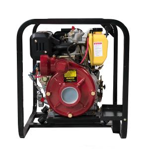 Motopompa DKD HP80, Diesel, pornire electrica