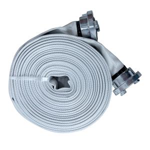 """Rola de 20m furtun refulare tip pompieri DKD - 2"""" 12 bar cu cuple direct"""