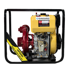 Motopompa DKD HP80, Diesel, pornire manuala