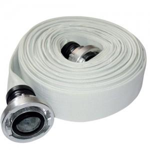 """Rola de 20m furtun refulare tip pompieri DKD - 4"""" 12 bar cu cuple direct"""