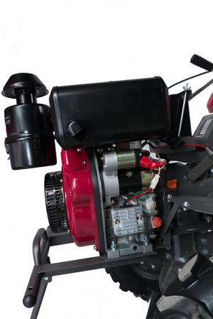 Motocultor DKD WM 1100 BE Diesel 12CP pornire la cheie 6 viteze