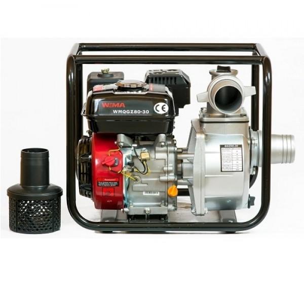 Motopompa benzina Weima QGZ 80-30 motor 6.5 CP